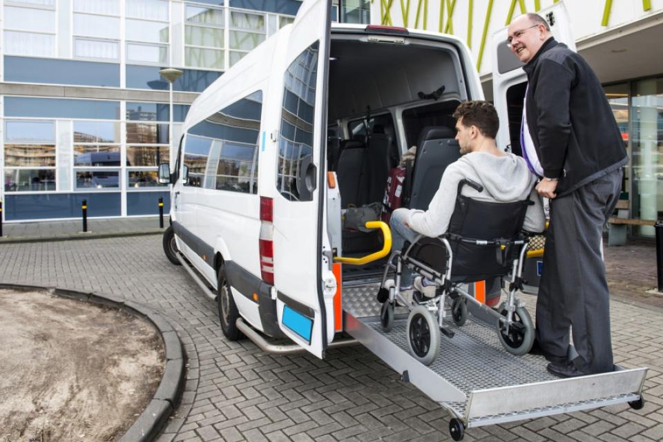 Zittend Ziekenvervoer